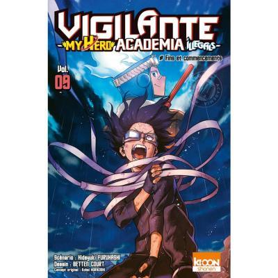 Vigilante my hero academia illegals tome 9