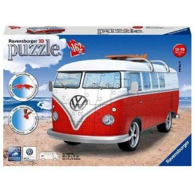 Vw puzzle 3d volkswagen combi t1