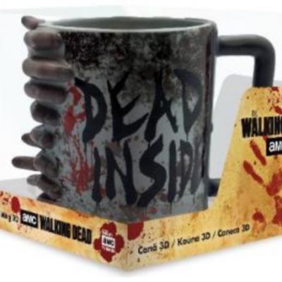 Walking dead mug 3d don t open dead inside