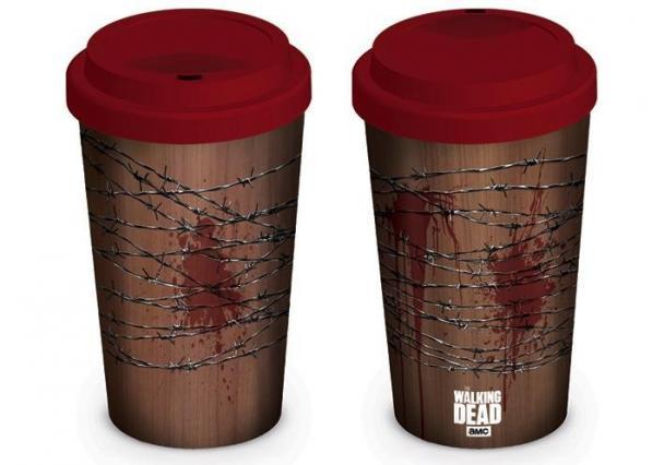 Walking dead mug de voyage 340 ml lucille