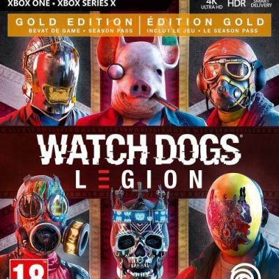 Watch dogs legion gold edition xbox one xbox series x