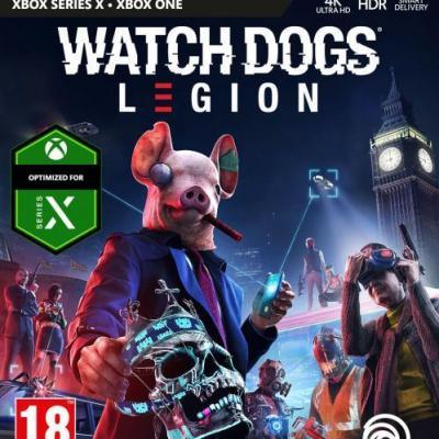 Watch dogs legion xbox one xbox series x