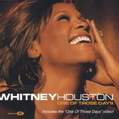Whitney houston one of those days maxi cd occasion
