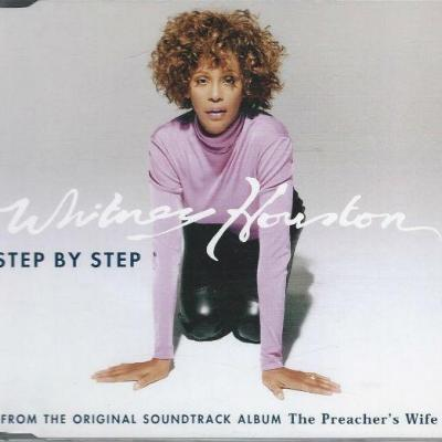 Whitney houston step by step maxi cd occasion pressage promotionnel