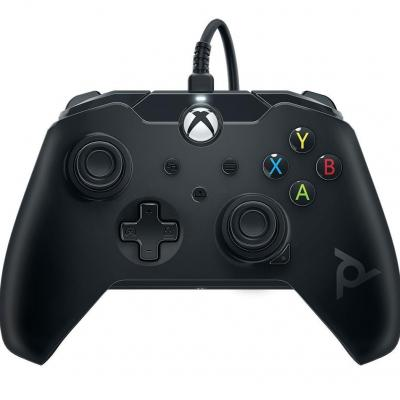 Wired controller official xbox series x black