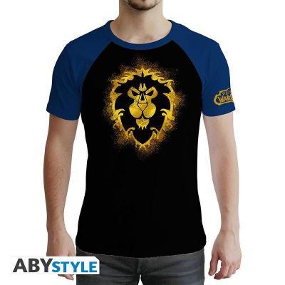 World of warcraft alliance t shirt homme