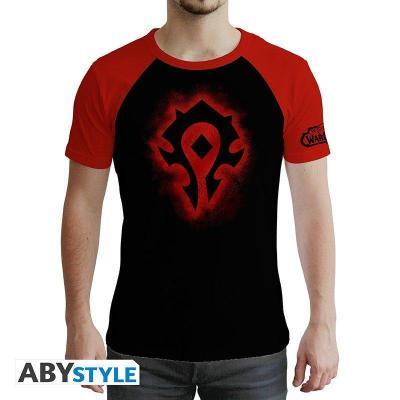 World of warcraft horde t shirt homme