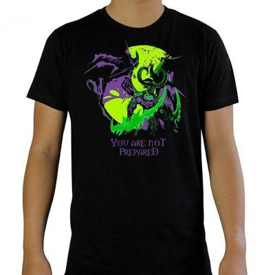 World of warcraft you are not prepared t shirt homme