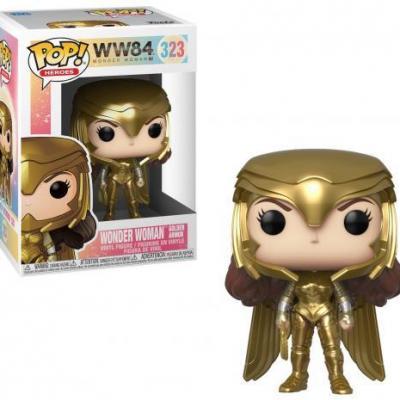 Ww84 bobble head pop n 323 wonder woman golden armor