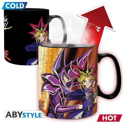 Yu gi oh yugi vs kaiba mug thermoreactif 460ml