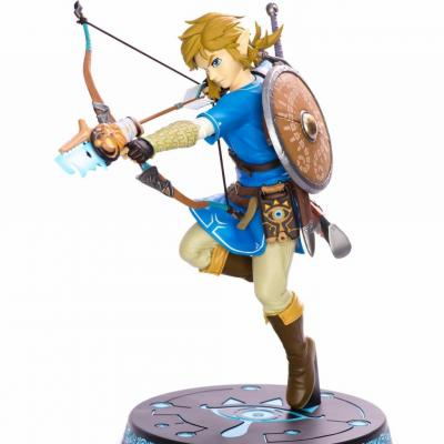 Zelda breath of the wild link pvc statue 25cm