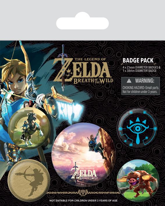 Zelda breath of the wild pack 6 badges the climb