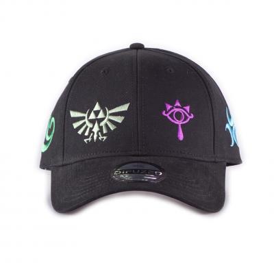 Zelda color symbols casquette