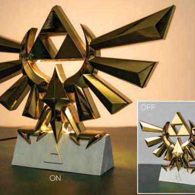 Zelda hyrule crest lampe portable