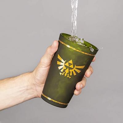 Zelda hyrule crest verre 500ml 1