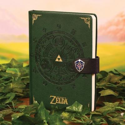 Zelda notebook a5 premium legend of zelda