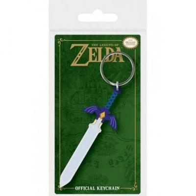 Zelda porte cles caoutchouc master sword